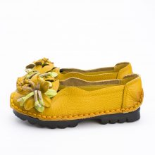 Flowers Handmade Floral Flat Shoes
