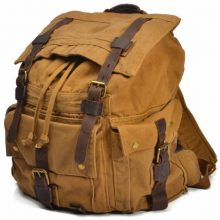 Vintage Travel Backpack Large Bag