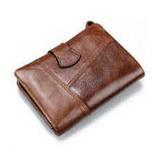 Genuine Leather Men's Wallet Coin Bag