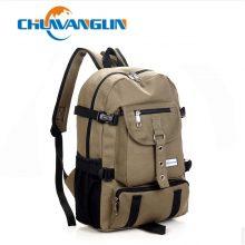 arcuate shoulder strap zipper backpack