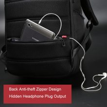 Laptop Backpack External USB Charge Computer Anti-theft