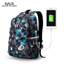 Student Waterproof Nylon Backpack