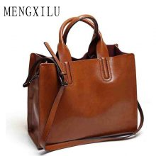 Leather Handbag Spanish Brand Shoulder Bag